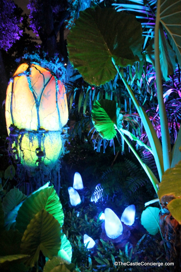 Bioluminescence in Pandora World of Avatar at Disney's Animal Kingdom