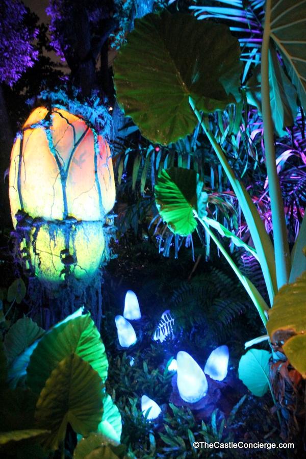 Bioluminescence in Pandora World of Avatar at Disney's Animal Kingdom