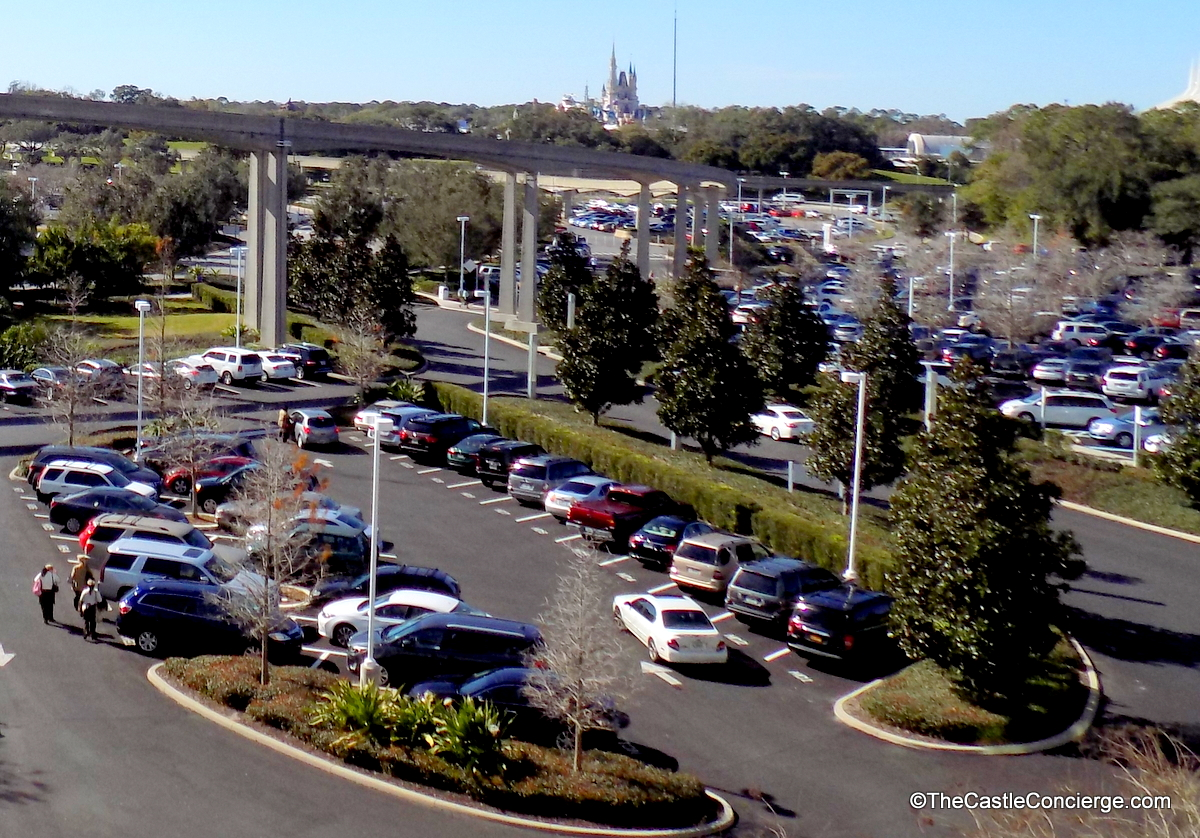 Parking at Disney's Contemporary Resort