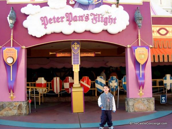 Peter Pan's Flight, Magic Kingdom, Walt Disney World. Off to Neverland