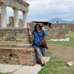 Visit Pompeii in Italy.