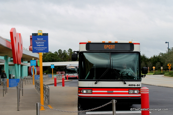 Pop Century Bus Transportation. Walt Disney World Resorts