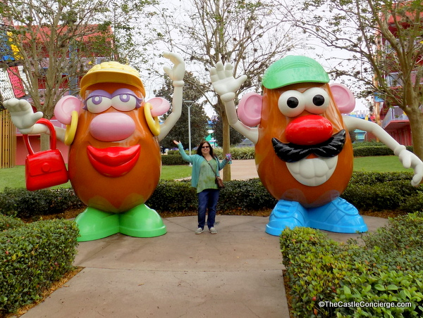 Pop Century Walt Disney World Potato Heads