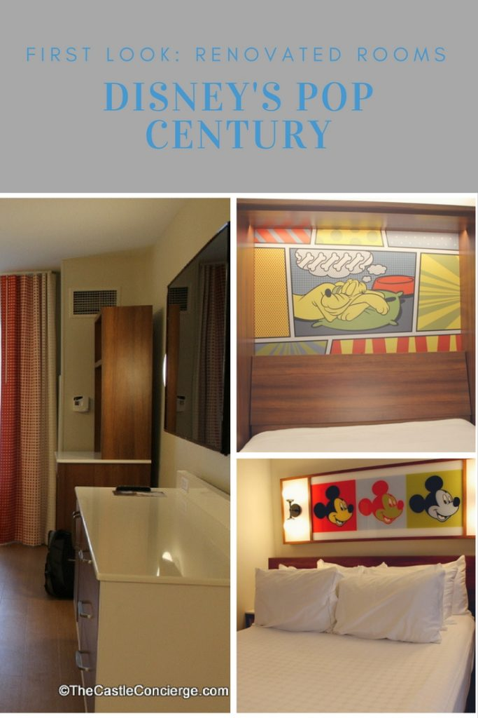 Refurbished Room at Pop Century