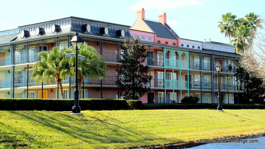Port Orleans French Quarter is a charming hotel at WDW.