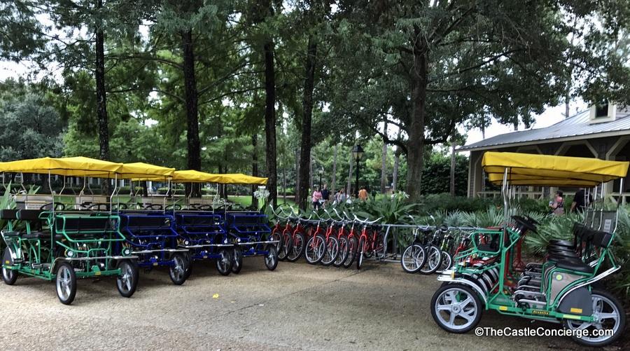 Bike Rentals at Port Orleans Riverside