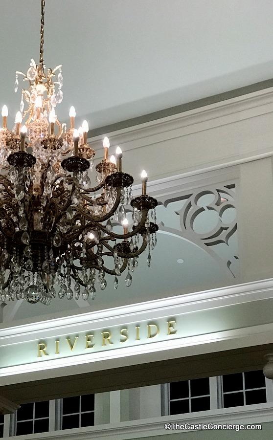 Hidden Mickeys in Lobby at Port Orleans Riverside.