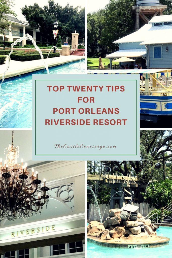 Port Orleans Riverside Resort Tips