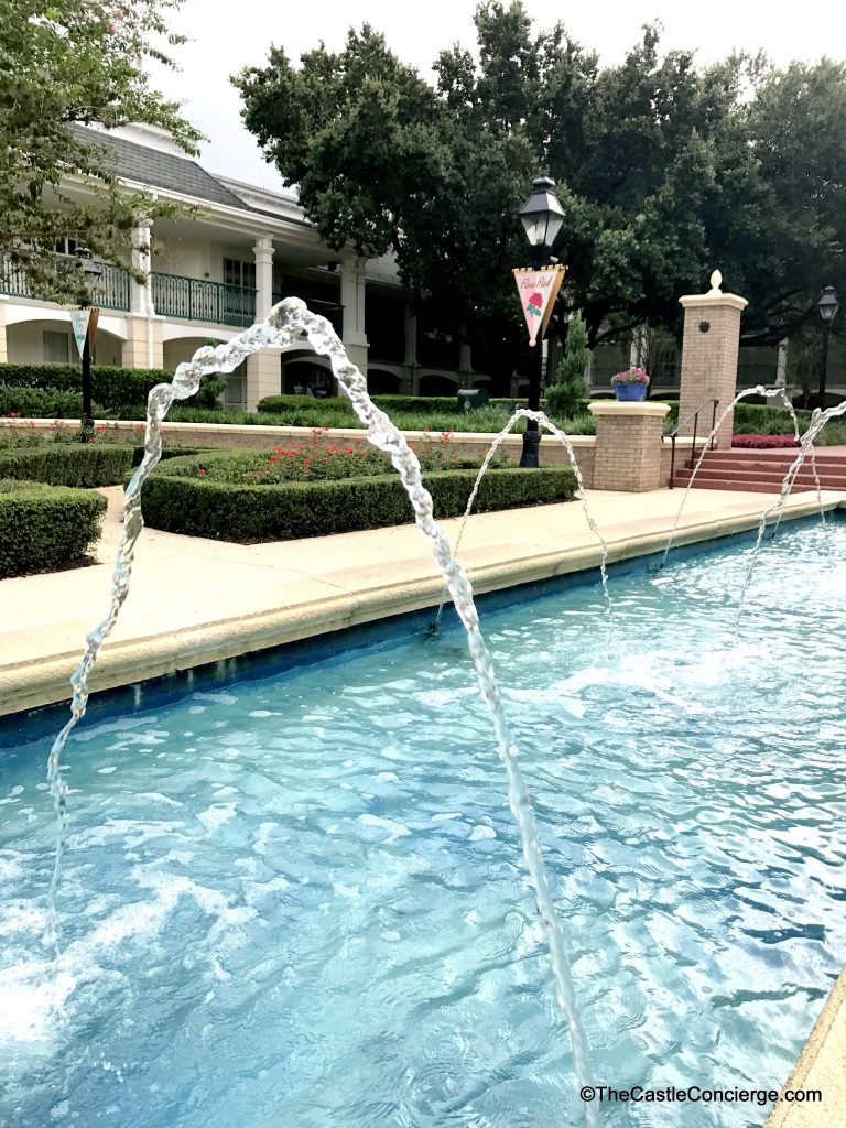 Fountain at Port Orleans Riverside.