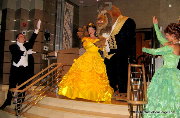 Disney Princesses on Disney Cruise