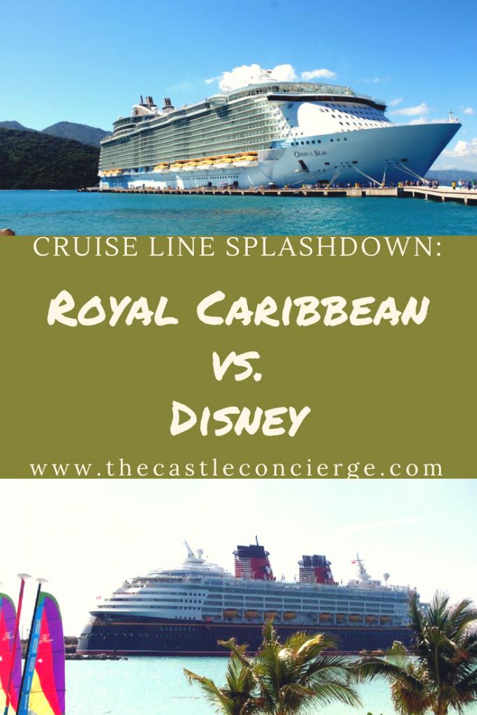 Royal Caribbean vs. Disney Cruise Lines