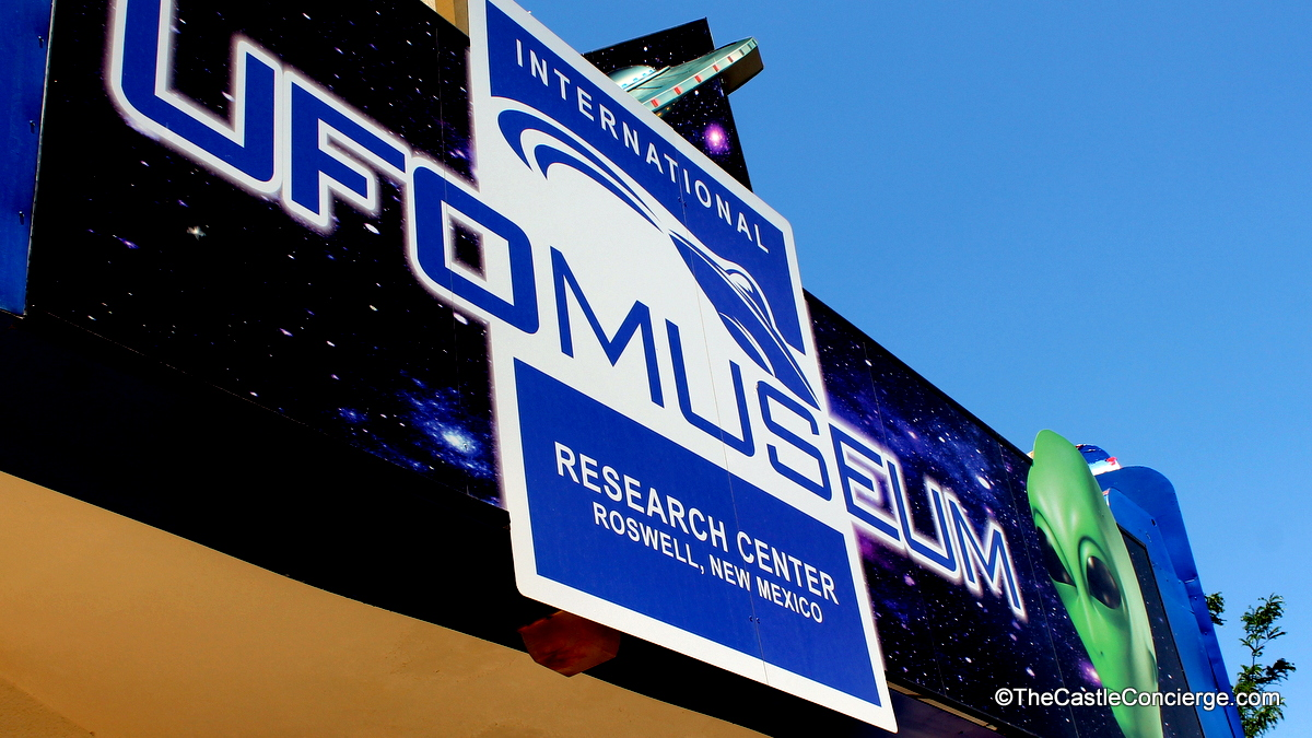 Roswell UFO Museum in New Mexico.