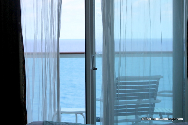 Royal Caribbean Balcony Stateroom. Fresh ocean air.
