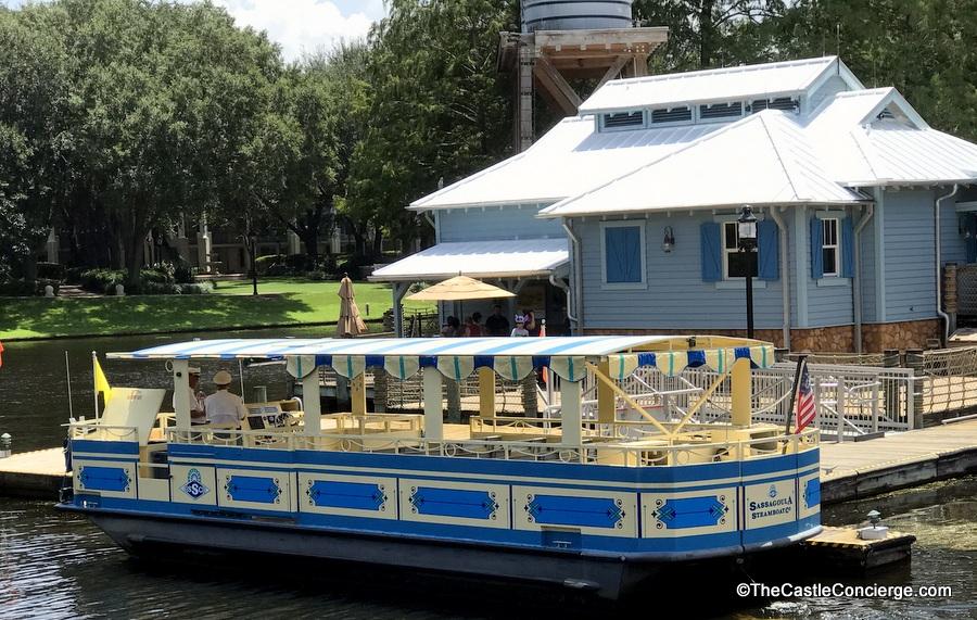 Sassagoula Riverboat at Port Orleans Riverside.