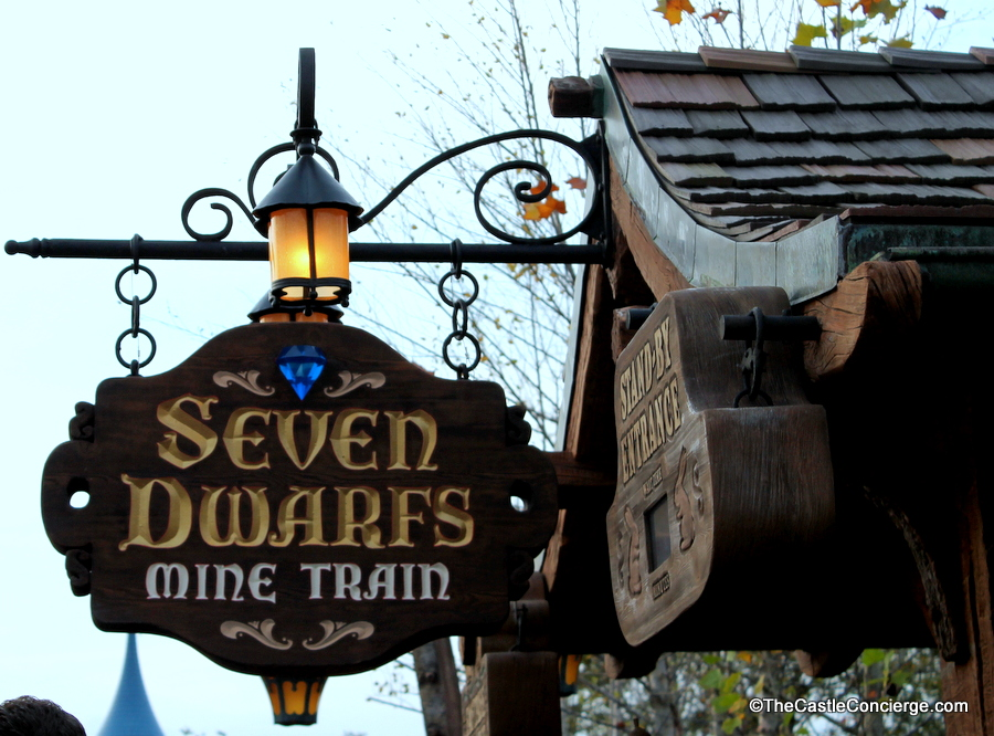 Avoid long stand-by lines when reserving FastPass Plus attractions, including the popular Seven Dwarfs Mine Train.