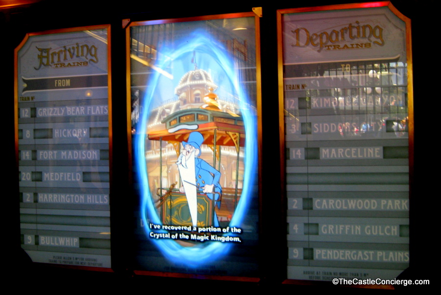 Sorcerers of the Magic Kingdom Interactive Game at Train Station