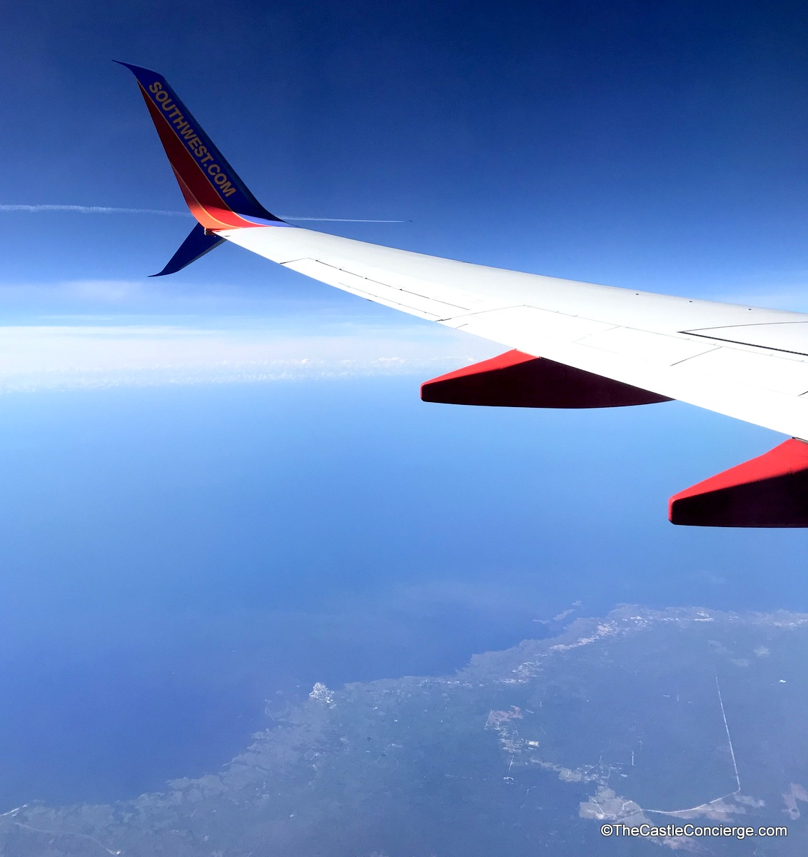 Fly to your next destination via Southwest or your favorite airline.