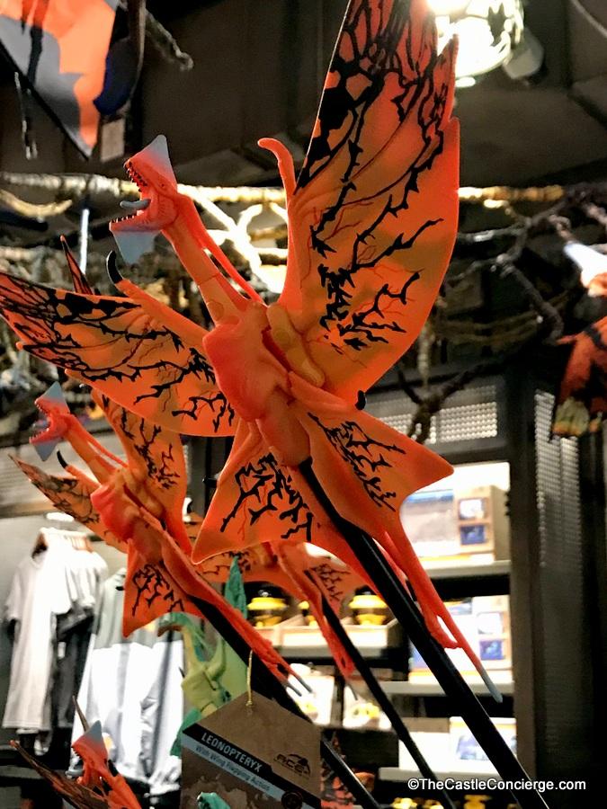 Souvenirs at Windtraders in Pandora.