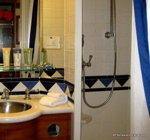 DCL split bathroom