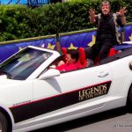 Mark Hamill in the Legends of the Force parade at Disney's Hollywood Studios.