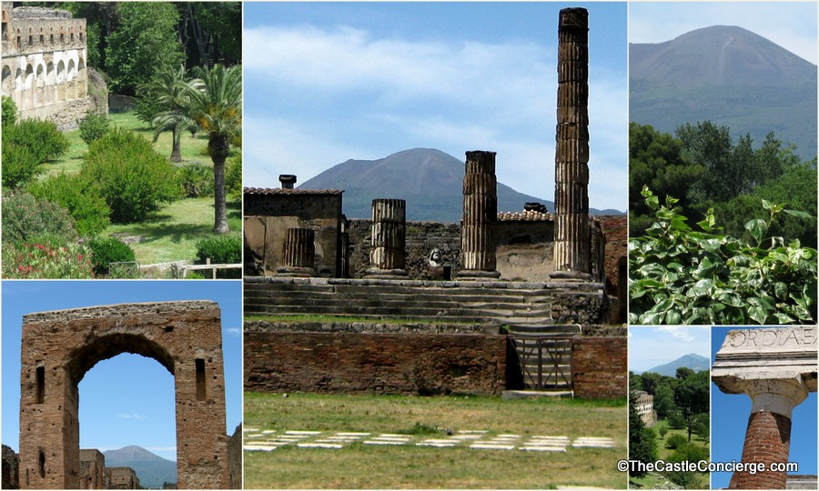 Surreal Places Pompeii Italy