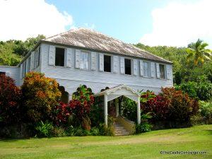 Surreal Places. Little La Grange Plantation House St Croix, US Virgin Islands