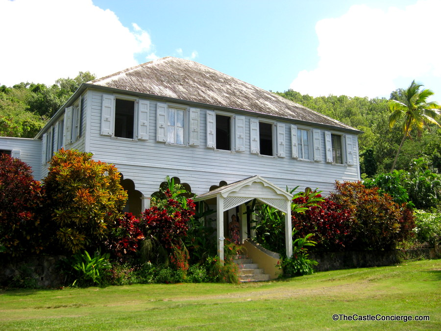 Surreal Places. Little La Grange Plantation House St Croix, US Virgin Islands