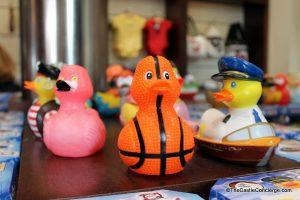 THE BOATHOUSE sells rubber duckies in Disney Springs, WDW.