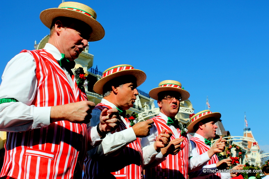 The Dapper Dans in the Magic Kingdom.