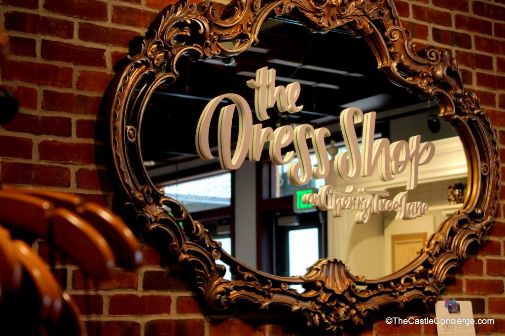 The Dress Shop at Cherry Tree Lane Marketplace Co-Op Disney Springs WDW
