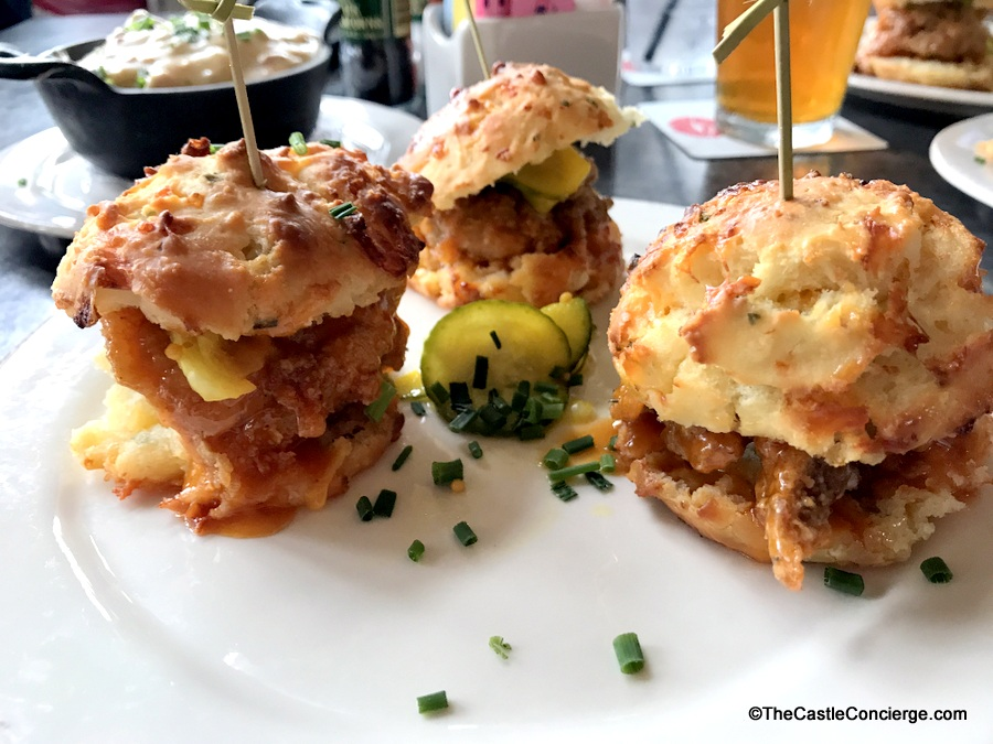 Thigh High Chicken Biscuits at Chef Art Smith's Homecomin'.