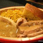 Carving Board Turkey Dinner at Port Orleans Riverside.