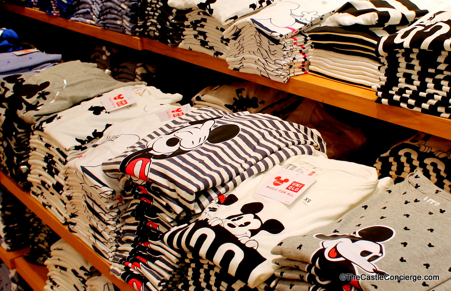 UNIQLO Tshirts Disney Springs