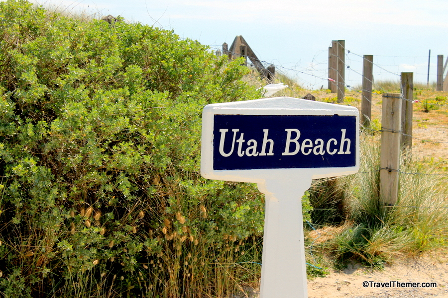 Utah Beach was one of five landing zones during D-Day Normandy Invasion