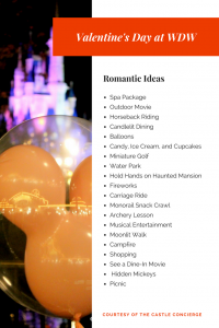 Date Ideas for Valentine's Day at Walt Disney World