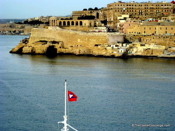 Reverse bucket List: It's like sailing back in time as your ship sails into the Grand Harbor at Valletta, Malta.