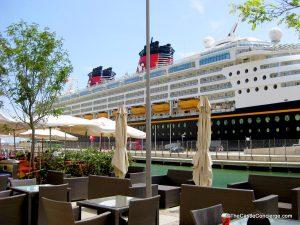 Disney Magic docked in Valletta, Malta