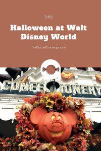 Walt Disney World Halloween Tips