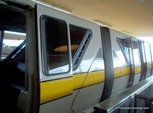 WDW Monorail - please stand clear of the doors. Favorite WDW Quote