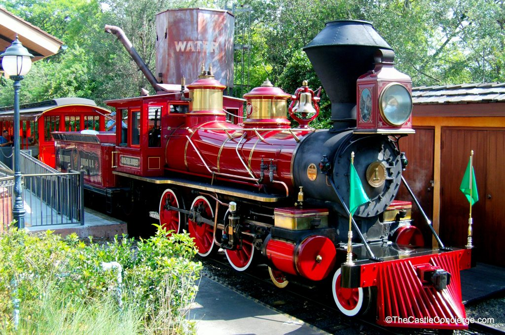 WDW Railroad Engine