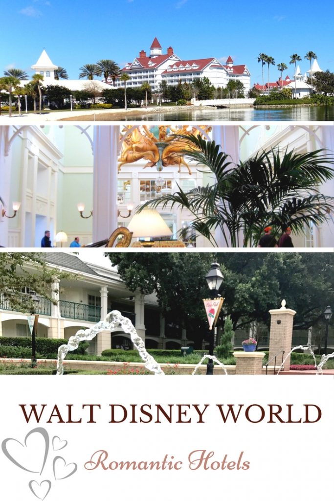 Romance at Walt Disney World. Romantic Hotels.