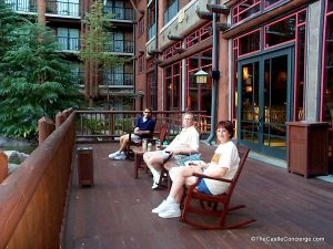 Enjoy relaxation at Disney's Wilderness Lodge