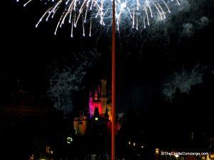 Wishes from atop Main Street Train Station