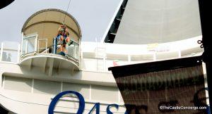 Royal Caribbean ships offer fun activities like ziplining.