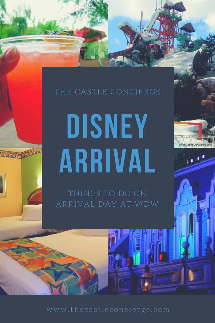 Things to do on your Disney Arrival Day at WDW