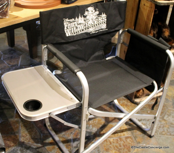 Disney's Fort Wilderness sells unique merchandise like this camping chair.
