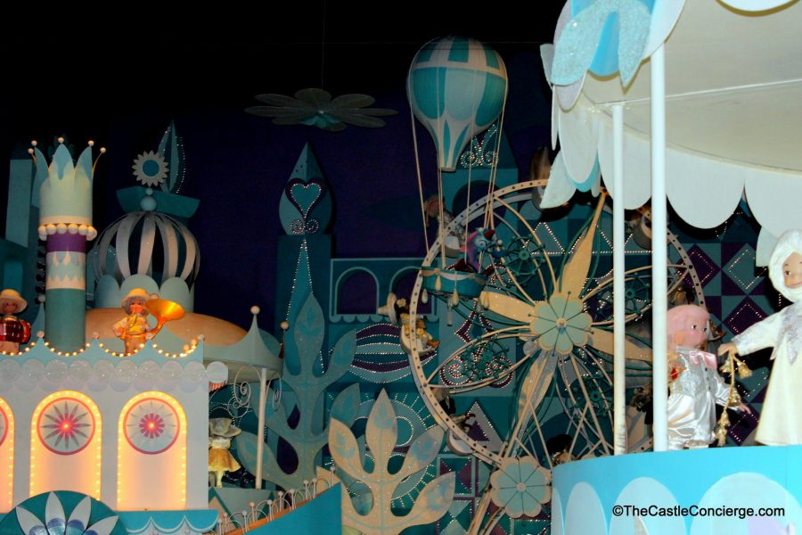 "Final scene in ""it's a small world"""