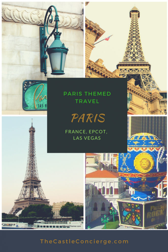 Paris Travel Theme. Paris Themed Travel.