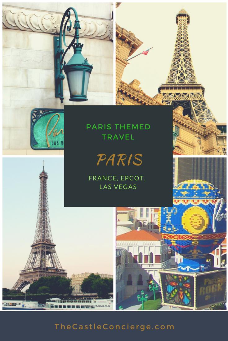 Paris Travel Theme. Paris Themed Travel.