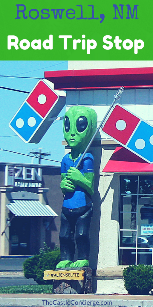 Roswell New Mexico Road Trip Overnight Stop.